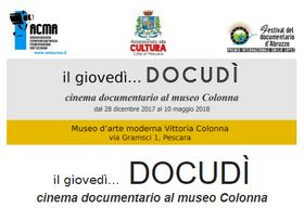 il giovedì DOCUDì cinema documentario al museo Colonna.jpg